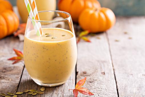Vanilla Pumpkin Protein Smoothie