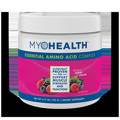 MyoHealth™ Essential Amino Acid Complex Berry Crush Powder